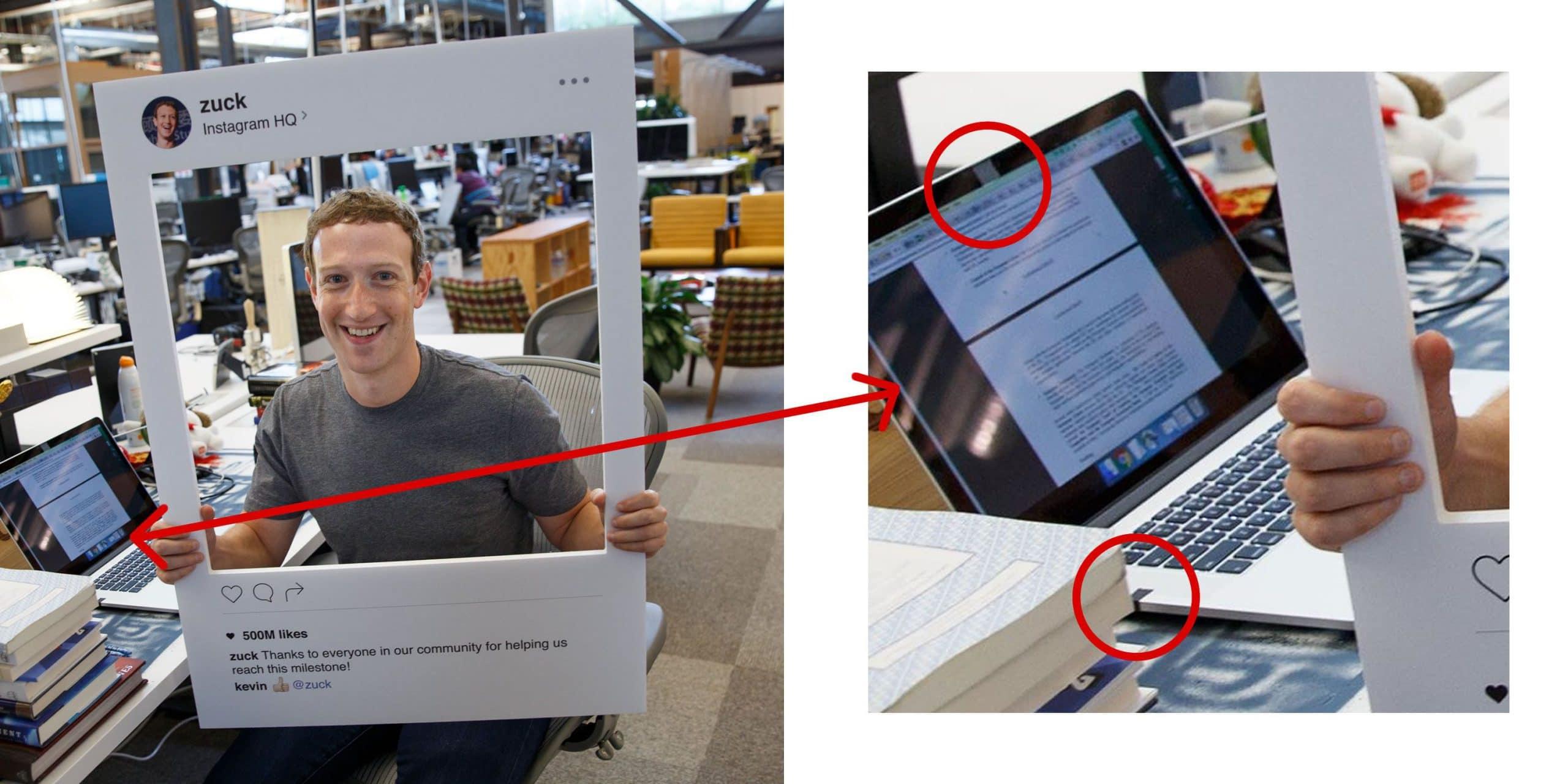 Mark Zuckerberg – De eigenaar van Facebook gebruikt ook een webcam cover